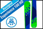 Rossignol Experience 100 HD: Men's 17/18 All-Mountain Back Editors' Choice Ski - © Rossignol