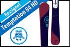 Rossignol Temptation 84 HD: Women's 17/18 Frontside Editors' Choice Ski - © Rossignol