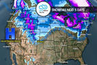 12.14 Snow Before You Go: Wintry Pattern Northeast, Mild Snow West - © Meteorologist Chris Tomer