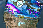 12.28 Snow Before You Go: Jet Stream & Heavy Snow Favor North - © Meteorologist Chris Tomer