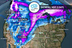 Widespread Snow Across West for New Year's: 12.27 Snow B4U Go - © Meteorologist Chris Tomer