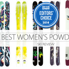 Women's Powder Skis: 6 Floatation Favourites for 2014