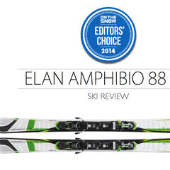 2014 Men's All-Mountain Ski Editors' Choice: Elan Amphibio 88 XTI