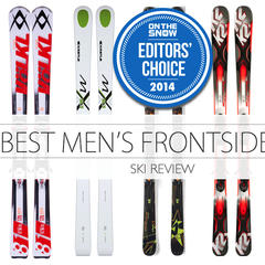 Find On-Piste Bliss with Five Fave Frontside Men's Skis