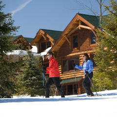 Cross-country skiing at Whiteface Lodge - © Whiteface Lodge