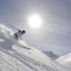 I migliori sci da freeride per donna 2014 - ©Dynastar / Dan Ferrer