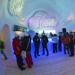 The White Lounge bar in Mayrhofen