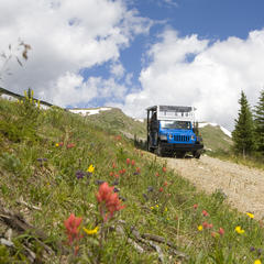 Taking a Jeep Tour through Summit County is a great way to see the scerery. Photo by Leisa Gibson - ©Leisa Gibson