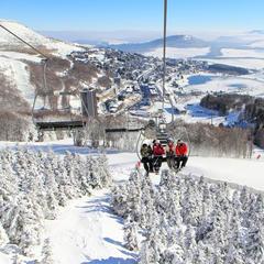10 najlepších rodinných lyžiarskych stredísk vo Francúzsku - ©Office de Tourisme Massif du Sancy
