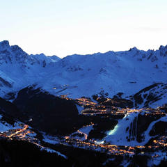 Courchevel at night - © Patrick Pachod