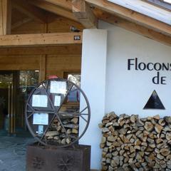 Flocons de sel restaurant in Megève. Courtesy of Martine Gillet
