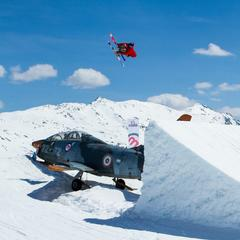 Freestyle boarder in Livigno, Italy. - © Livino.eu