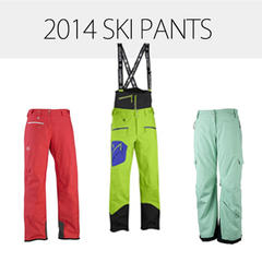 2014 Men's & Women's Ski Pants: The Bottom Line in Outerwear