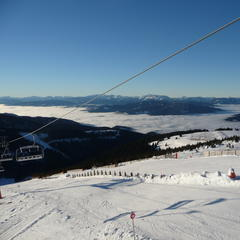 Aj keď sa v Stuhlecku lyžuje už od 30.11., oficiálne slávnostné otvorenie sezóny sa odohralo v piatok 13.12.2013 - © Matej Petőcz