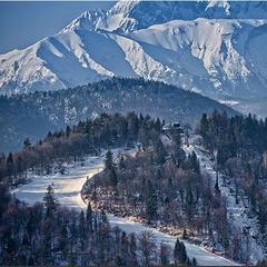 Szczawnica Palenica: Rodinná lyžovačka nad kúpeľným mestom - ©pkl.pl