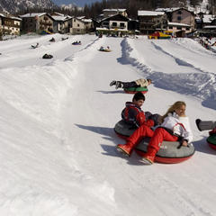Snowtubing - Cogne