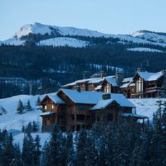 Private lodges at Yellowstone Club, Montana. - © Tom Erickson