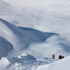 A prolonged storm cycle completely reset the snow pack in Alaska this season - © H2O Guides