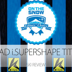 2015 Men's Frontside Editors' Choice Ski: Head i.Supershape Titan - ©Head