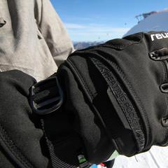 """Der Reusch Volcano GTX® verfügt über """"Heating Pocket"""" - © Skiinfo"""