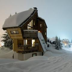 Gallery: Fresh snow in the French Alps Feb. 24, 2015 - ©Avoriaz
