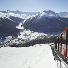 Parsenn has plenty of easy freeride options, Davos-Klosters - ©© Destination Davos Klosters