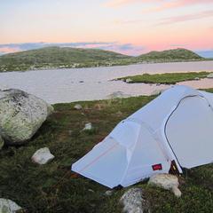 Sonnenuntergang - Richtig dunkel wird es in den Sommermonaten in Norwegen aber erst zu sehr später Stunde - ©Gerda Moritz