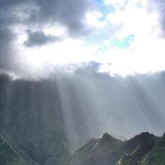 Kauai von oben - © bergleben.de/Sebastian Lindemeyer