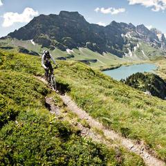 Biken am Jochpass - ©Engelberg-Titlis Tourismus