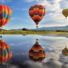 Hot Air Balloon Rodeo Launch Field - © Steamboat