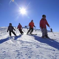 Rodinná lyžovačka v Les Carroz - © Les Carroz