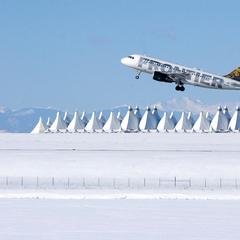 DIA Terminal Snow