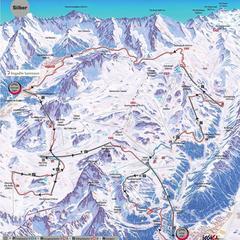 Dlhé sú pekné: 4 lyžiarske okruhy pre lovcov kilometrov - ©Ischgl