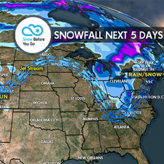 4.6 Snow Before You Go: Large, Powerful Storm - ©Meteorologist Chris Tomer