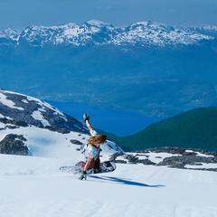 fa580692 Nyt vårværet med ski på bena
