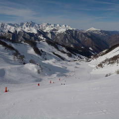 pistes de ski Guzet - © Alex Gosteli
