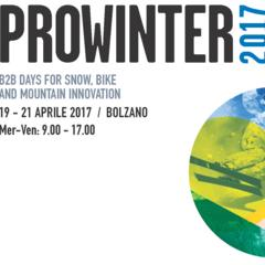 Prowinter: il b2b degli sport di montagna dal 19 al 21 Aprile a Bolzano - ©Prowinter 2017
