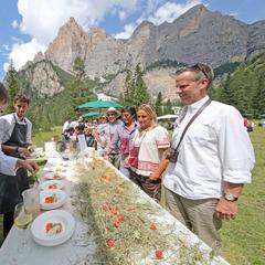 La Dolomitica: il picnic più stellato d'Italia si gusta in Alta Badia - ©Freddy Planinschek -