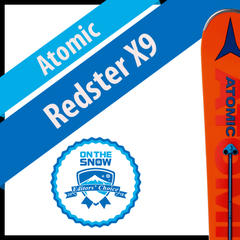 Atomic Redster X9: Men's 17/18 Technical Editors' Choice Ski - ©Atomic