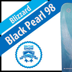 Blizzard Black Pearl 98: Women's 17/18 All-Mountain Back Editors' Choice Ski - ©Blizzard