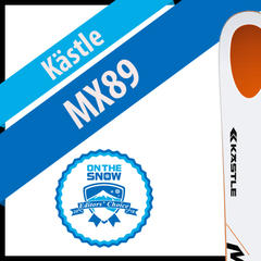 Kästle MX89: Men's 17/18 All-Mountain Front Editors' Choice Ski - ©Kästle