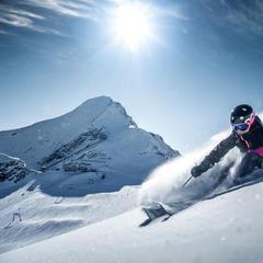 Freeride na Kitzsteinhornu - © Gletscherbahnen Kaprun