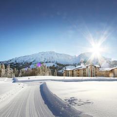 Langlaufloipe in Oberjoch - © Panorama Hotel Oberjoch