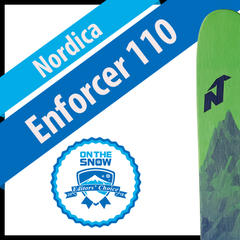 Nordica Enforcer 110: Men's 17/18 Big Mountain Editors' Choice Ski - ©Nordica