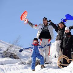 Montagna a misura di bambini: i parco giochi sulla nevi della Paganella - ©Ph: Tonina per Visitdolomitipaganella.it