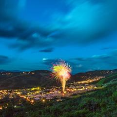 Mountain Town 4th: Where to Watch Fireworks - ©Park City Mountain Resort