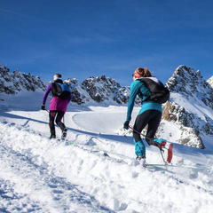 Skitourenpark am Pitztaler Gletscher - © Dynafit / Pitztaler Gletscher