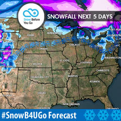 11.16 Snow Before You Go: Double Dose of Snow - ©Meteorologist Chris Tomer