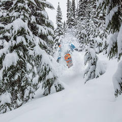 Photo Gallery: Snow Dance Working for West - ©Mitch Winton / Coast Mountain Photography