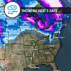 12.14 Snow Before You Go: Wintry Pattern Northeast, Mild Snow West - ©Meteorologist Chris Tomer